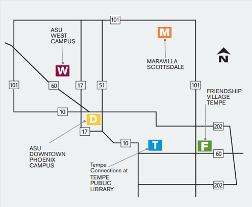 Campus Location Map